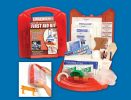 125 Piece Detachable Wall Mount First Aid Kit