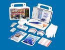 10 Person OSHA/ANSI 2015 Class A Poly First Aid Kit