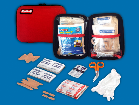 108 Piece Soft Pack First Aid Kit